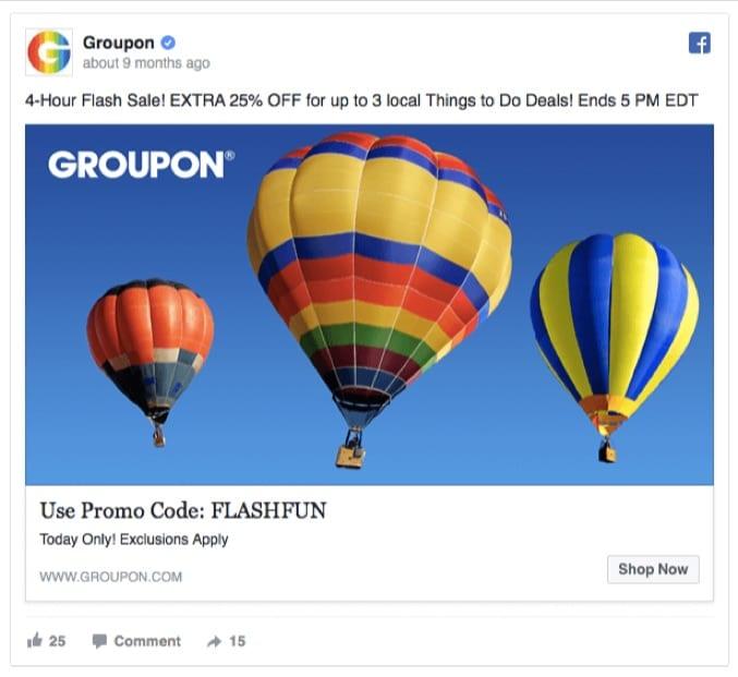 groupon-facebook-ad-balloon
