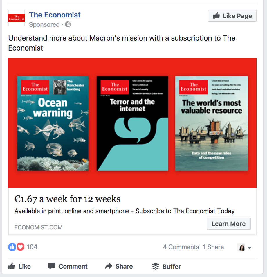 the economist ad