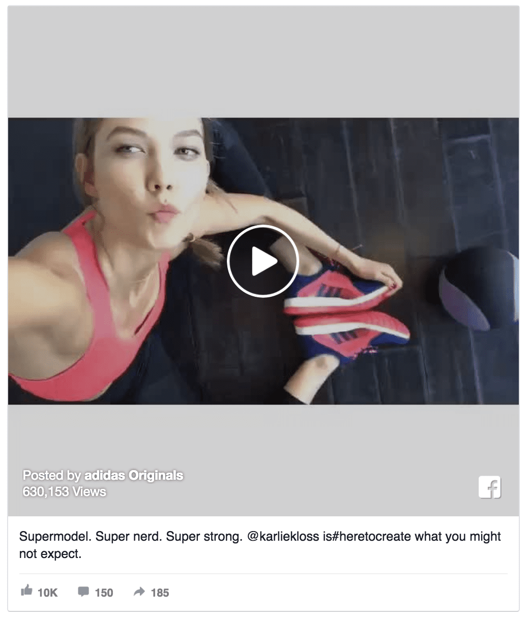 adidas facebook video