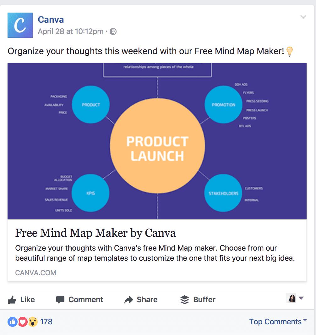 Canva's ad