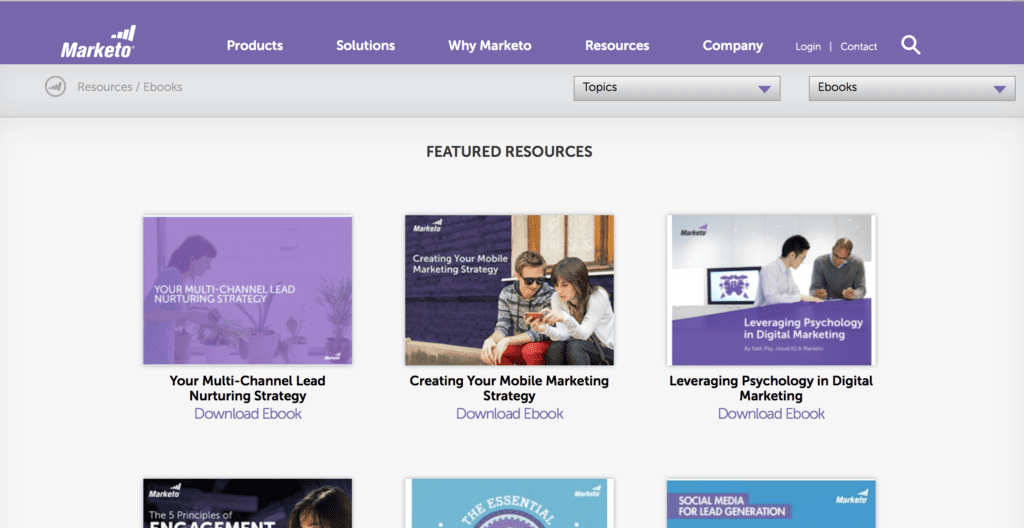 marketo ebooks