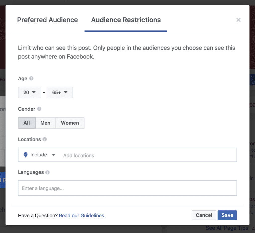 facebook advertising hack
