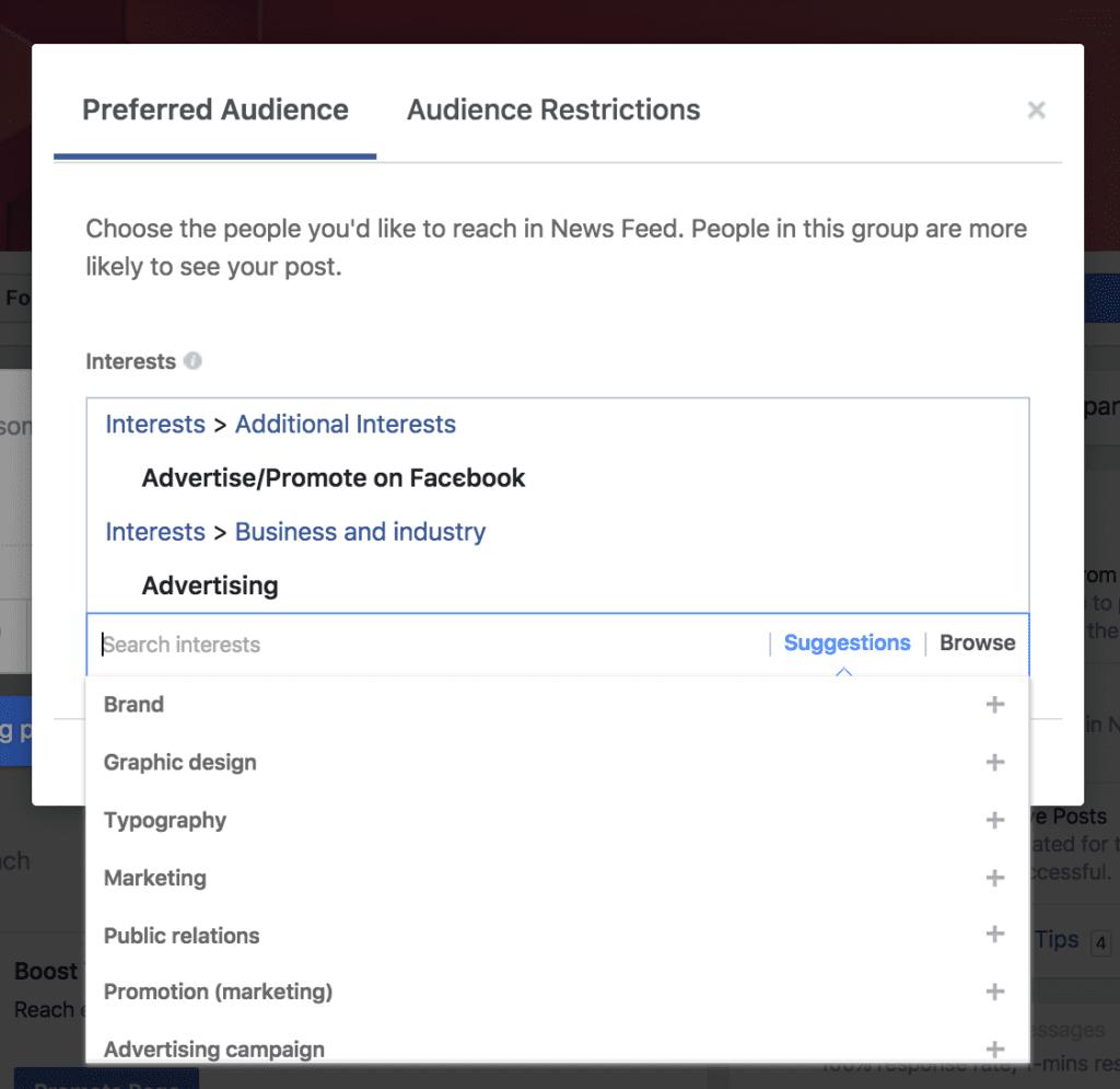 facebook audience hack