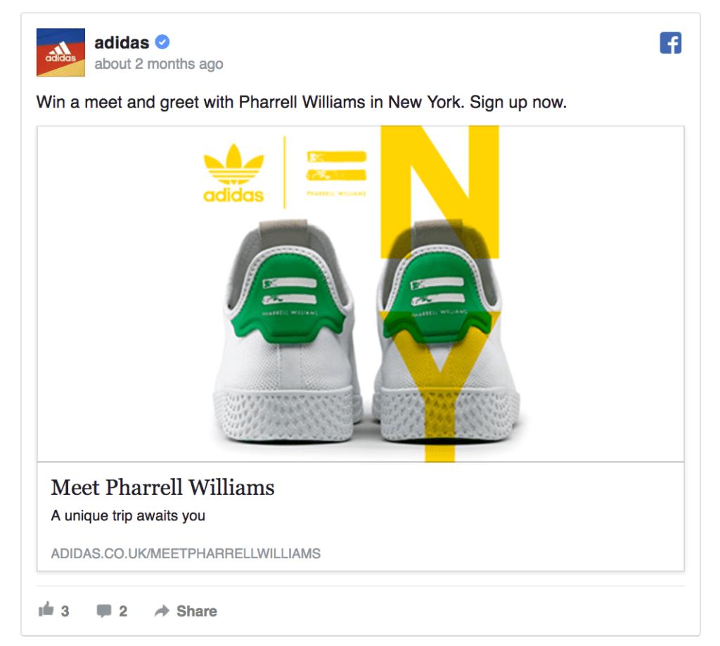 Adidas's ad