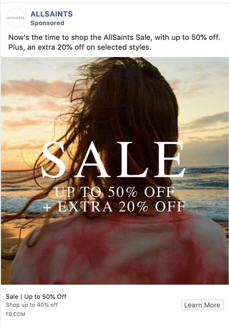 allsaints ad