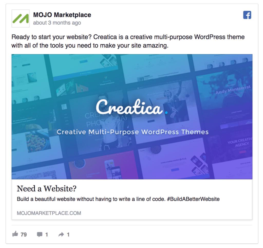 mojo marketplace ad