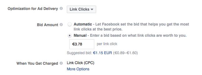 Facebook Suggested Bids