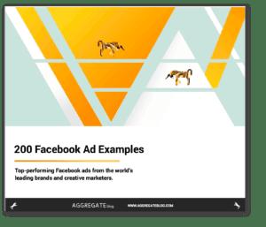 facebook ad examples ebook