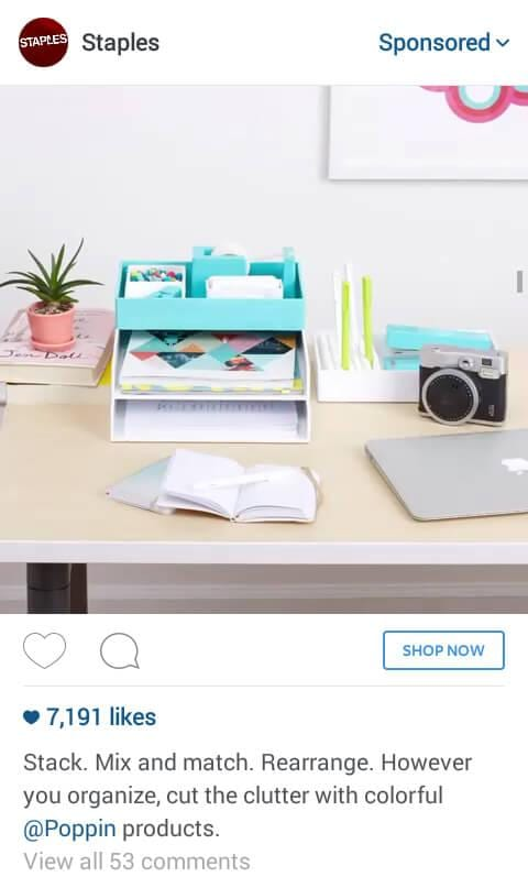 instagram ad design