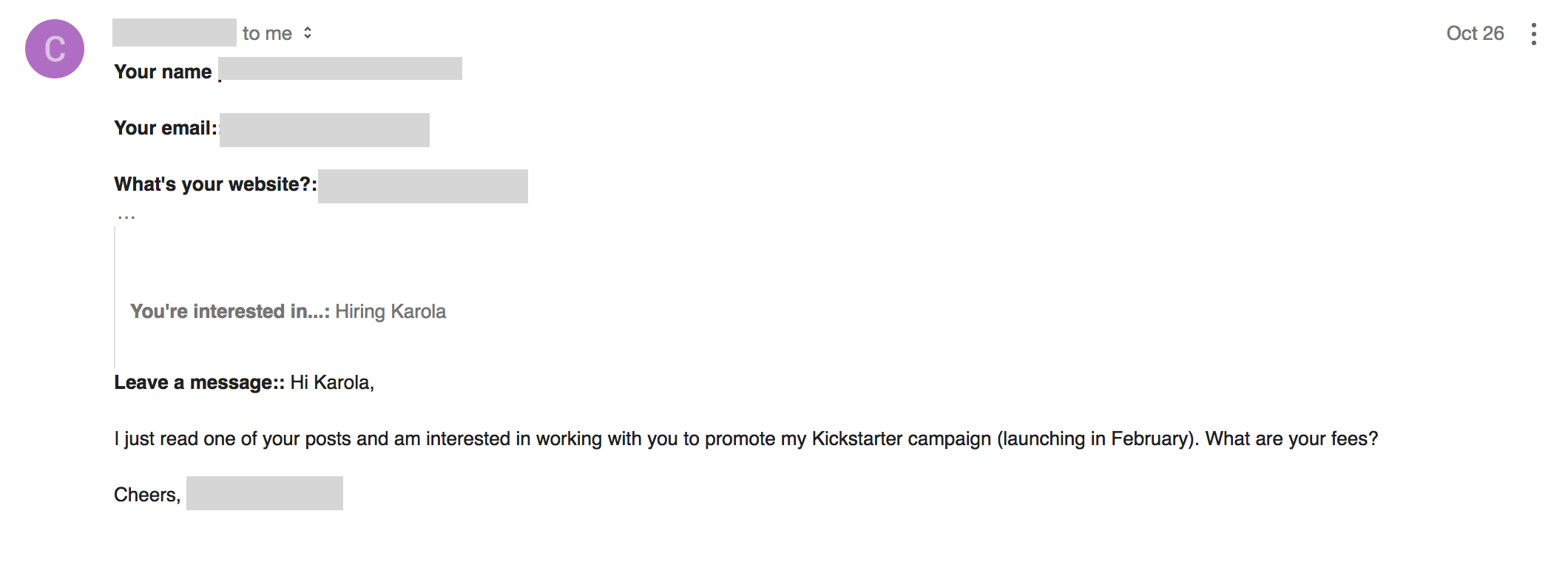 sometimes you get hired via guest blogging
