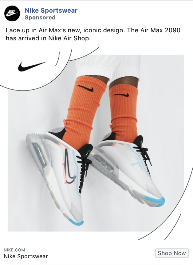nike facebook ad example 2